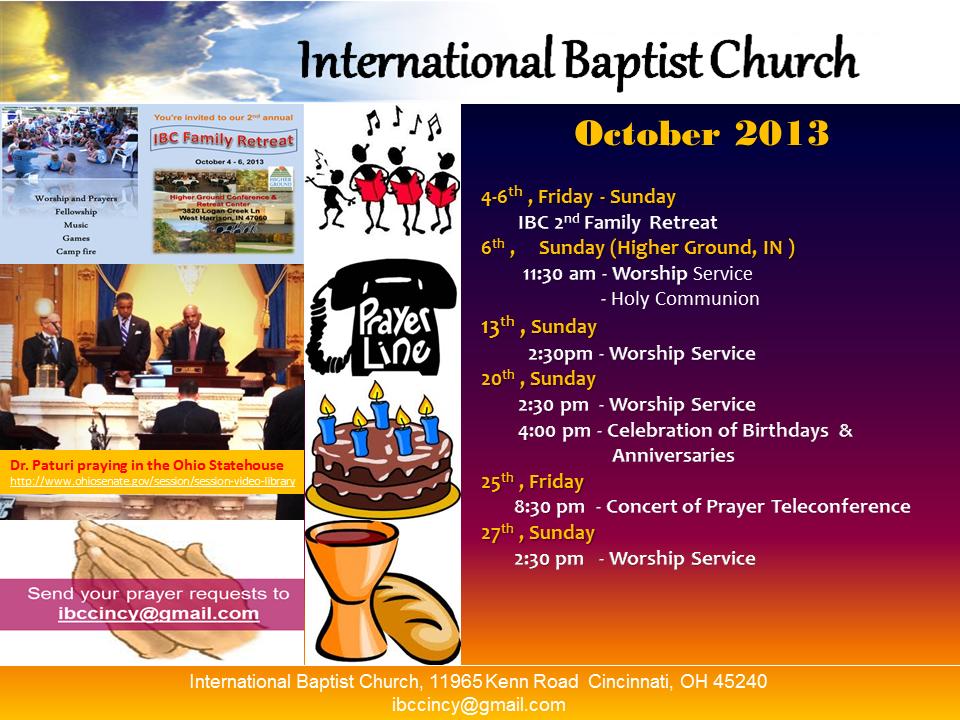IBC-Monthly Bulletin-Oct 2013