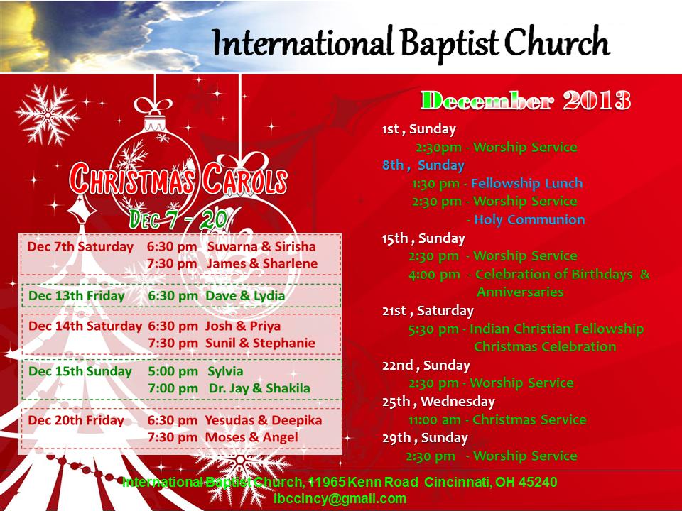 IBC-Monthly Bulletin - Dec 2013